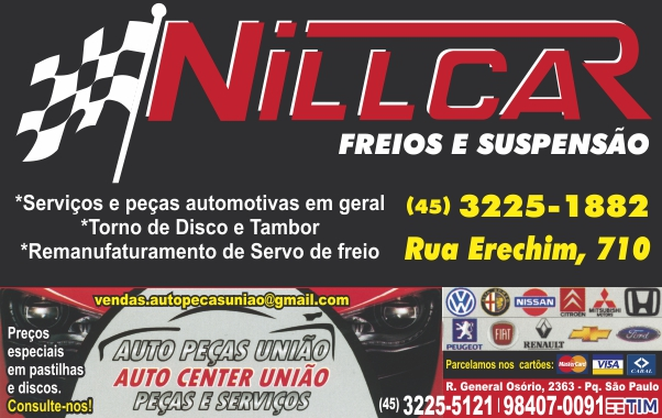 Nill-Car-e-Auto-peças-União